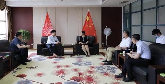 云知声CEO黄伟一行访问华侨大学,探索未来产教研融合新高度
