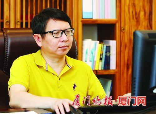 厦门祥福兴科技董事长蔡福水:潜心研发出石墨烯偏光片