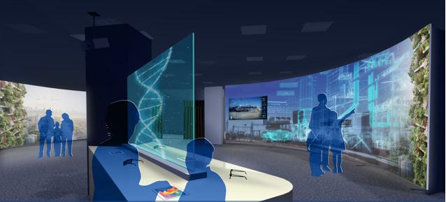 弈恩现实EON Reality和KMITL在泰国建立互动数据中心