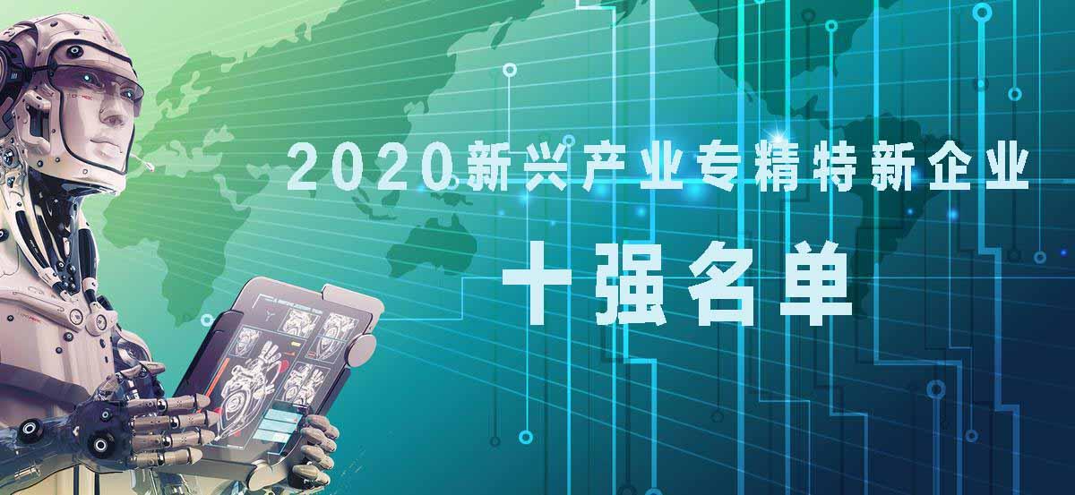 发布:2020新兴产业专精特新企业十强